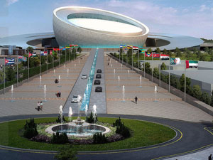 Isfahan International Public Gatherings Center project