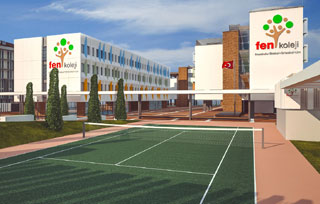 Fen College, Istanbul, Turkey project