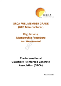 GRCA Full Member Regulations