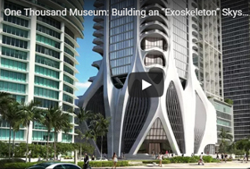 View Video of the GRC/GFRC used on 1000 Museum, Miami project