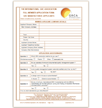 Download GRCA Member - Consultants Application Form